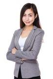 Donna di affari asiatica immagini stock