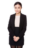 Donna di affari asiatica fotografie stock libere da diritti