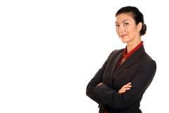 Donna di affari Asiatico-Americana Fotografia Stock