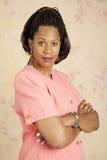 Donna di affari - atteggiamento serio Fotografie Stock Libere da Diritti