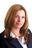 Donna di affari bionda Immagine Stock