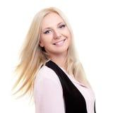 Donna di affari bionda Portrait Immagine Stock Libera da Diritti
