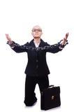 Donna di affari con la catena Fotografie Stock Libere da Diritti