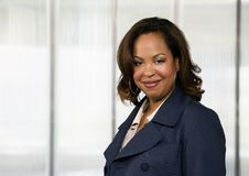 Donna di affari del African-American Immagine Stock