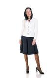 Donna di affari del Brunette Fotografia Stock Libera da Diritti