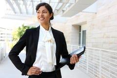 Donna di affari dell'afroamericano Immagine Stock Libera da Diritti