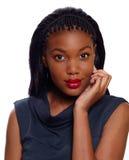 Donna di affari dell'afroamericano fotografie stock libere da diritti
