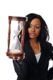 Donna di affari dell'afroamericano Immagini Stock Libere da Diritti