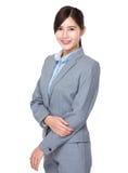 Donna di affari di Asain immagine stock