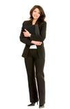Donna di affari di Fullbody Immagini Stock