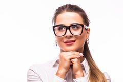 Donna di affari Dreaming Immagine Stock Libera da Diritti