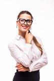 Donna di affari Dreaming Fotografia Stock Libera da Diritti