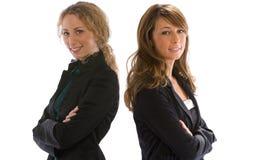 Donna di affari due Fotografia Stock