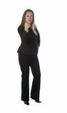 Donna di affari esigente Fotografia Stock Libera da Diritti