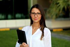 Donna di affari - immagine di riserva Fotografia Stock