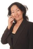 Donna di affari maggiore 4 Immagini Stock