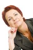 Donna di affari matura Fotografia Stock