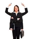 Donna di affari moderna Fotografia Stock Libera da Diritti
