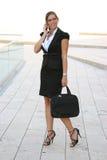 Donna di affari nella città immagine stock libera da diritti