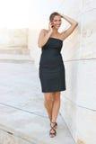 Donna di affari nella città immagini stock libere da diritti