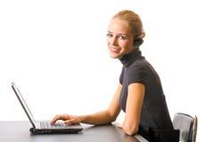 Donna di affari o segretaria Fotografia Stock