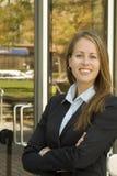 Donna di affari - professionista - sicura Immagini Stock