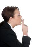 Donna di affari rigorosa Fotografie Stock Libere da Diritti