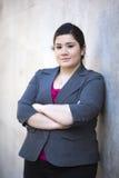 Donna di affari - ritratto Immagini Stock Libere da Diritti