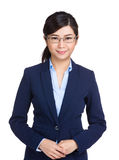 Donna di affari seria Immagine Stock Libera da Diritti