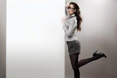 Donna di affari sexy Immagini Stock
