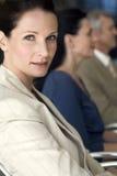 Donna di affari sicura Immagini Stock
