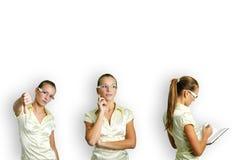 Donna di affari sul lavoro Immagine Stock Libera da Diritti
