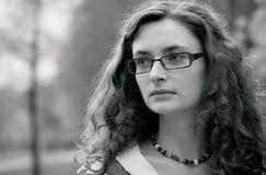 Donna di affari triste Fotografia Stock Libera da Diritti