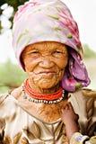 Donna di Basarwa Immagini Stock Libere da Diritti
