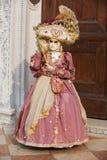 Donna di carnevale Fotografie Stock