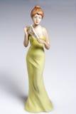 Donna di ceramica Immagine Stock Libera da Diritti