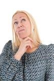 Donna di cercare maturo di età fotografie stock libere da diritti