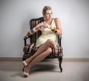 Donna di classe Fotografie Stock