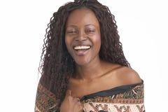 Donna di colore Immagini Stock