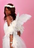 Donna di colore di angelo Fotografia Stock Libera da Diritti
