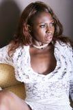 Donna di colore sexy Immagini Stock Libere da Diritti