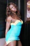 Donna di colore sexy Fotografie Stock Libere da Diritti