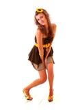 Donna di Dancing immagine stock