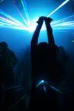 Donna di Dancing nel movimento Fotografie Stock Libere da Diritti