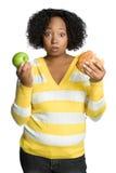 Donna di dieta Immagini Stock