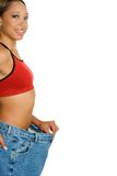 Donna di dieta immagini stock libere da diritti