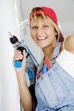 Donna di DIY Immagini Stock