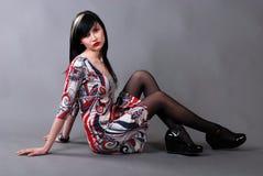 Donna di fascino fotografie stock