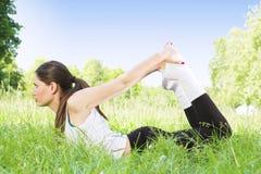 Donna di forma fisica Fotografia Stock Libera da Diritti