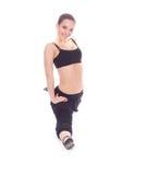 Donna di forma fisica Fotografie Stock